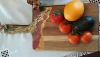 Epoxy Art,Hand made,Christmas gift,Bread cutting b Calgary, T3A 1R9