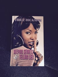 Tric Hickman Keeping Secrets & Telling lies book Cumberland, 21502