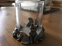 Pewter Cat Candle Holder Collingwood, L9Y 0G6