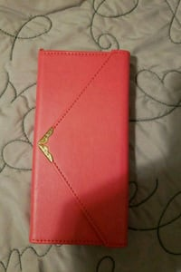 red leather bi-fold wallet Hyattsville, 20784
