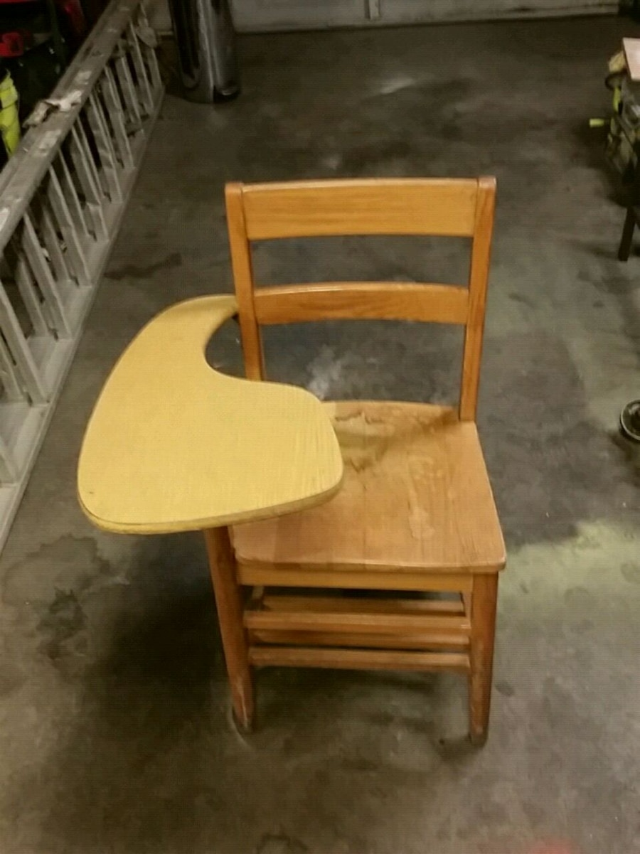 & Used Old school chair for sale in Evansville - letgo
