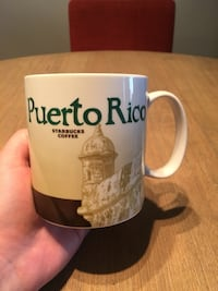 Puerto Rico Starbucks Global Icon Series City Mug (NEVER USED) Arlington, 22201