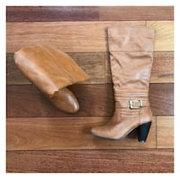 New Pair of brown boots size 6 Oakville, L6L 5A8