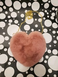 Cute, stylish , heart shaped bags.
