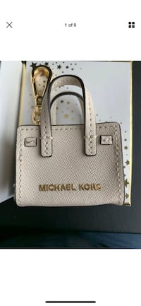 Michael Kors Handbag key charm, new.