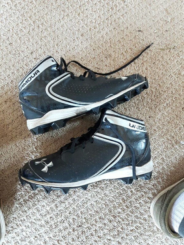 95fb0c9d5c387 Used Size 7.5 Used under armour football cleats for sale in King City ...