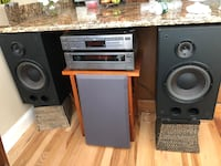 JVC Stereo System...JVC CD Player..Bose Speakers