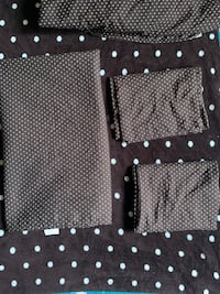 Full size sheet set with matching blanket