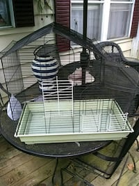 black and white metal pet cage Egg Harbor Township, 08234