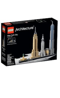 LEGO ARCHITECTURE 21028 NEW YORK CITY  BRAND NEW ! Toronto, M4Y 0E3