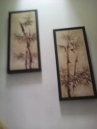 two paintings of bamboo trees Ottawa, K1C 4Y6