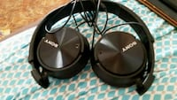 black and gray Sony corded headphones Norfolk, 23502