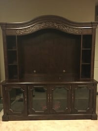 2 Piece Solid Wood Entertainment Center Chantilly, 20152