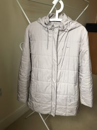 Lacoste / Light grey  zip-up bubble jacket Reading, RG1 6PN