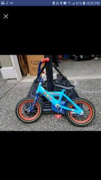 blue and pink BMX bike screenshot Surrey, V3R