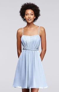 Davids Bridal blue dress size 8 Alexandria