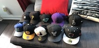 Snap backs and fitted 7 3/8  Toronto, M3C 4J1