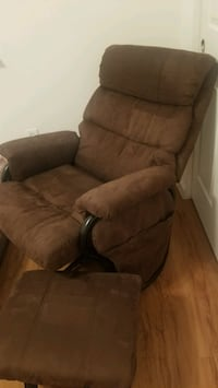 Baby Glider Rocking Chair with foot stool