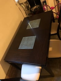 Dining Table for 4 ( leather cover chairs ) Charlotte, 28277