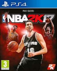 Funda de juego NBA 2K17 PS4 Madrid, 28040