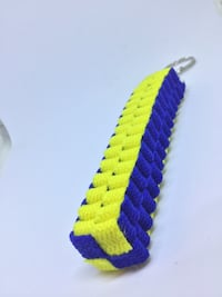 Blue and yellow knitted keychain Rockville, 20850