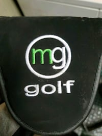 MG golf putter still in plastic Ogden