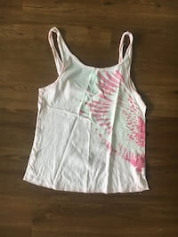White and pink spaghetti strap top Burlington, 01803