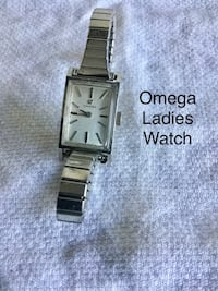 Omega. Ladies white gold in color watch Hudson, 34669