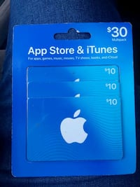 blue and white iTunes gift card 759 mi