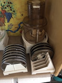 Cusinart with 11 different blades in excellent condition!  Used very little . Ventura, 93004