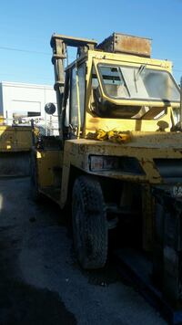 CAT forklift. 20k capacity with 12' flat forks. Closed cab. A/C AND heat Fort Myers, 33967