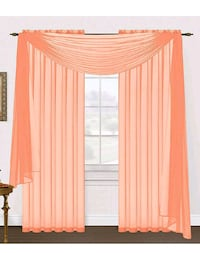 Sheer window scarf  Lilly, 15938