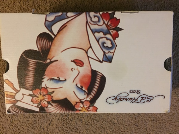 Ed Hardy Shoes box