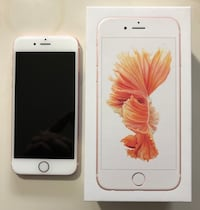 iPhone 6S 64gb Rose Gold *mint condition* Mississauga, L5B 1J7