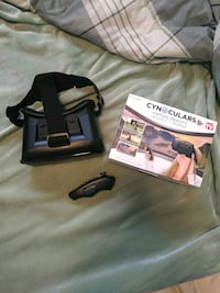 Cynoculars with Remote