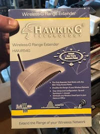 NEW Hawking Wireless G Extender Elk Grove Village, 60007