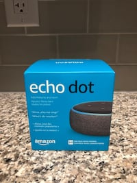 Unopened Echo Dot (Amazon Alexa) Mississauga, L5B 4N2
