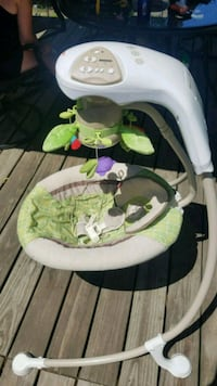#Fisher Price baby swing 60$, reduced to $50 Manchester, 03103