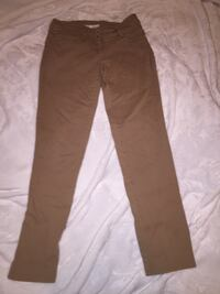 Brown straight-cut jeans Caledonia