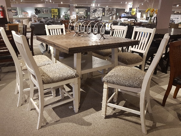 Used Modern Rustic Dining Come Check Em Out At Leons For Sale In Coaldale