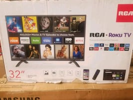 "TV 32"" RCA ROKU SMART NEW"