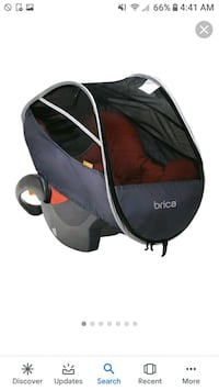 Brica infant comfort canopy carseat cover Tulare, 93274