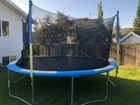 14' trampoline like new for sale Lloydminster (Part), T9V 2Z7