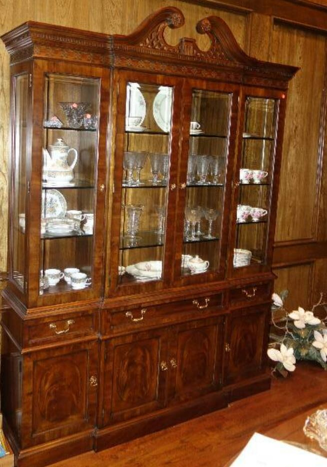 Superieur Drexel Heritage Lighted China Cabinet