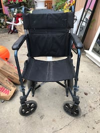 Foldable wheelchair  Hyattsville, 20783