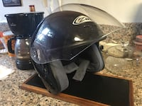 Black full-face helmet San Gabriel, 91776