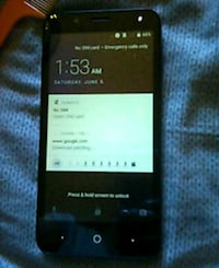 black Sony Xperia android smartphone Marysville, 98271