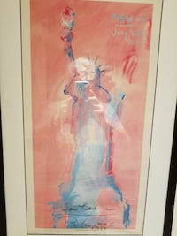 Peter Max signed 1985