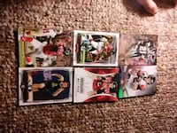 four assorted football trading cards Bristol, 37620