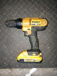 Dewalt 20V Drill Driver (20V Battery) Surrey, V3R 4Y2